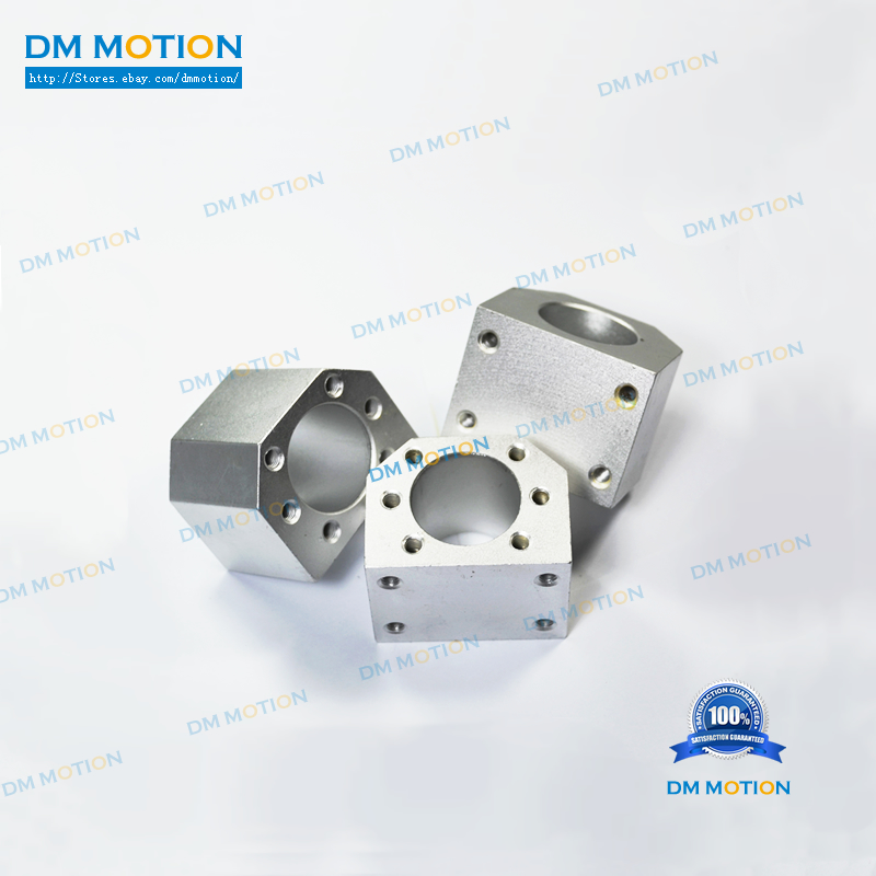 DIY cnc part SFU1605 Ball nut housing DSG16H and SFU1604 SFU1610 nut bracket