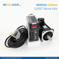 1Set 110ST-M02030(220V 2N.m 0.6KW)Servo Kits