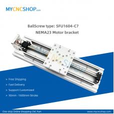 1Set lead 4mm Travel length 1000mm NEMA23 Linear Actuator moudle