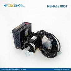 1Set 80ST-M01330(220V 1.27N.m 0.4KW)Servo Kits