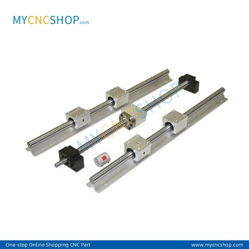 1000mm SFU1605+SBR16 Rail+BK12/BF12+Nut bracket+coupler