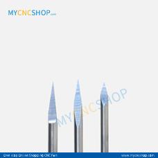 3.175×0.1mm 10degree triangular engraving milling