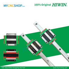 HIWIN Brand 2Pcs HGR15 1000mm with 4Pcs HGW15CC Blocks