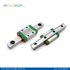 2Pcs 100mm MGN7 Miniature Rail With 2Pcs MGN7C Blocks