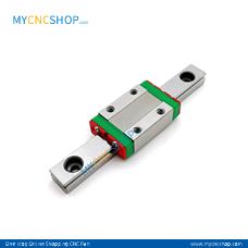 2Pcs 100mm MGN7 Miniature Rail With 2Pcs MGN7H Blocks