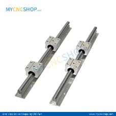 2Pcs SBR10 200mm 7.874in with 4Pcs SBR10UU Blocks