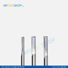 3.175x1.0x3mm 2F straight mill two straight flutes milling