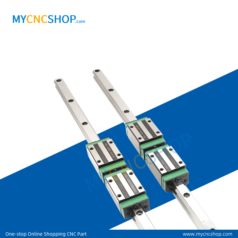 High-quality low-coset linear guides  the size is the same as HIWIN miniature guide rail